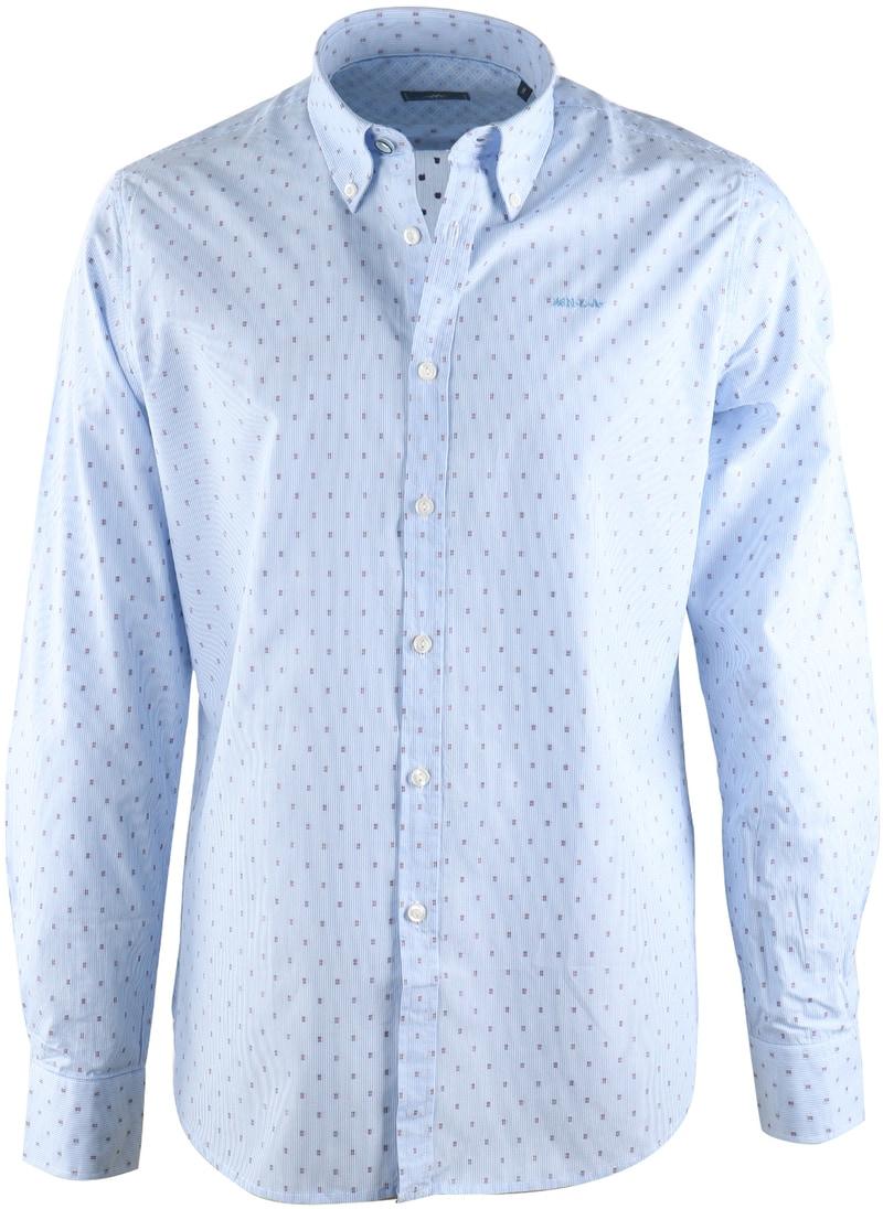 NZA Overhemd Blauw 17AN515  online bestellen | Suitable