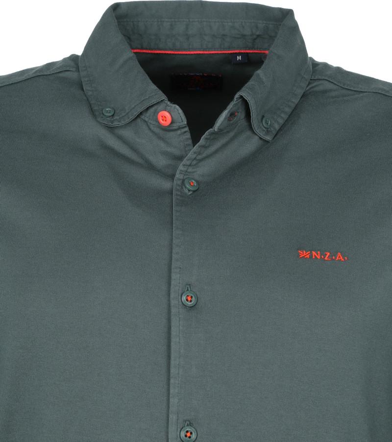 NZA Overhemd Pakuratahi Donkergroen - Groen maat 3XL
