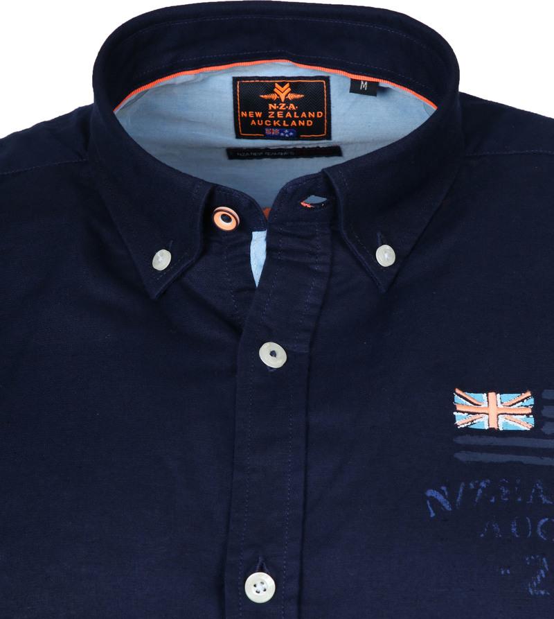 NZA Overhemd Rakaia Donkerblauw foto 1