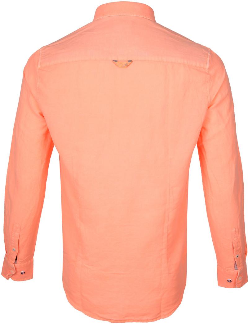NZA Overhemd Rakaia Neon Oranje foto 3