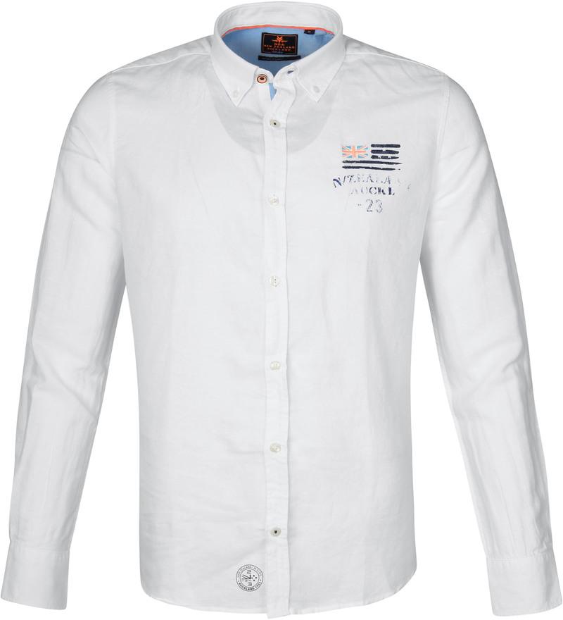 NZA Overhemd Rakaia Wit foto 0