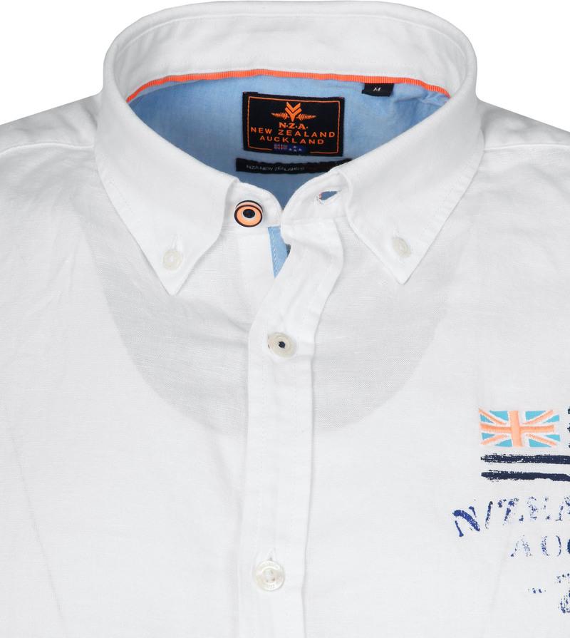 NZA Overhemd Rakaia Wit foto 1