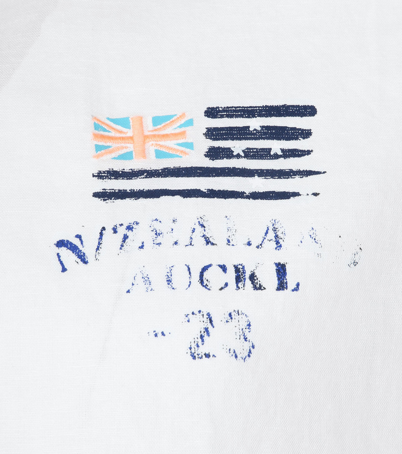 NZA Overhemd Rakaia Wit foto 2