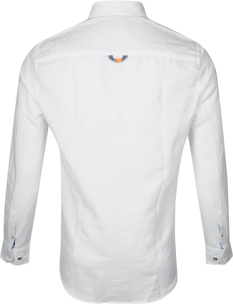 NZA Overhemd Rakaia Wit foto 3