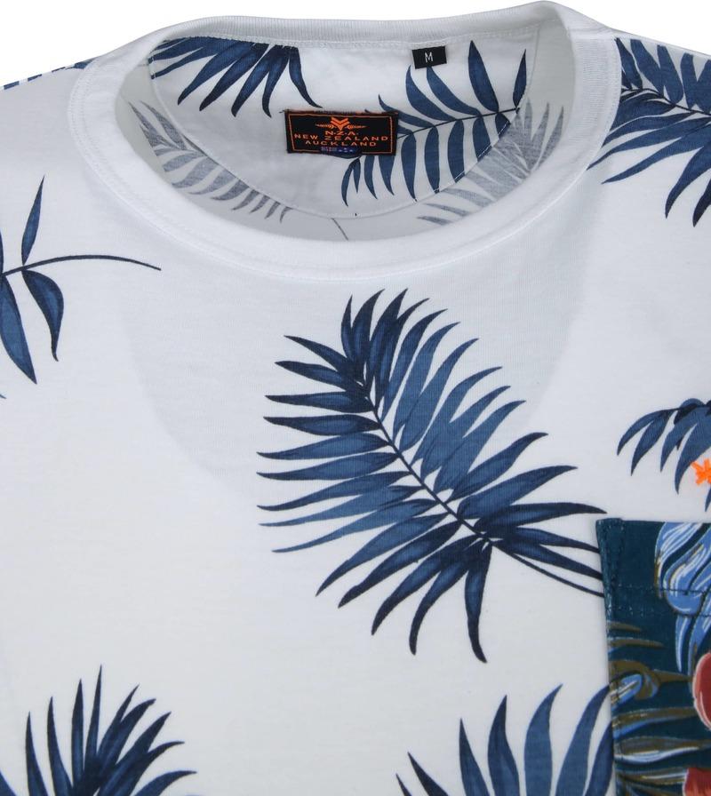 NZA Panguru T-shirt Weiß Foto 1