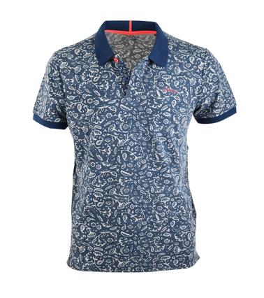 NZA Poloshirt Navy Print  online bestellen | Suitable