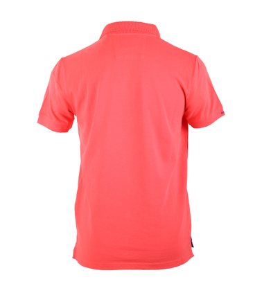 Detail NZA Poloshirt Oranje