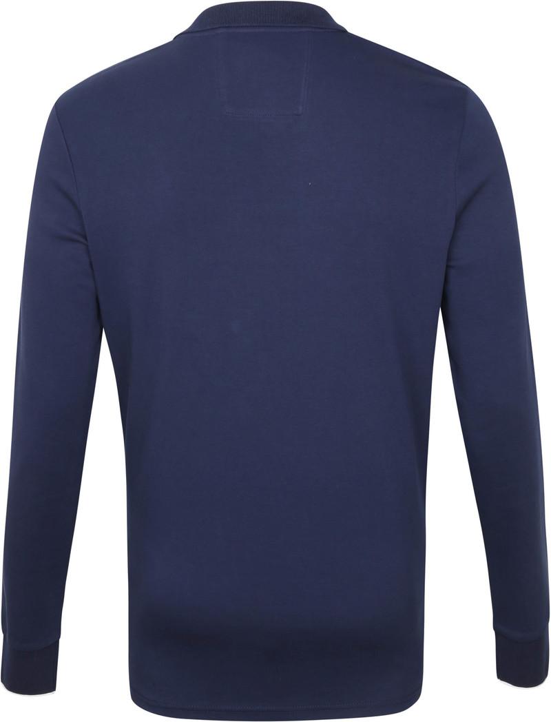 NZA Renwick Longsleeve Polo Donkerblauw