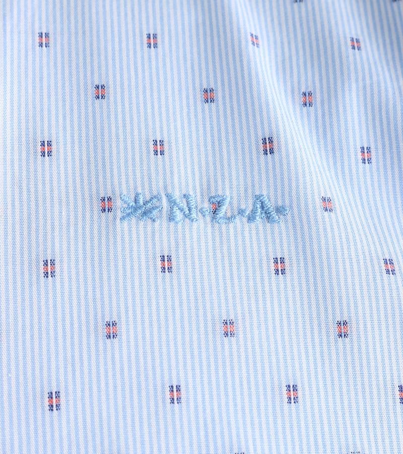 NZA Shirt Blue 17AN515 photo 3