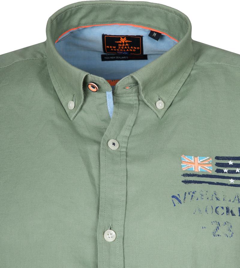 NZA Shirt Rakaia Green photo 1