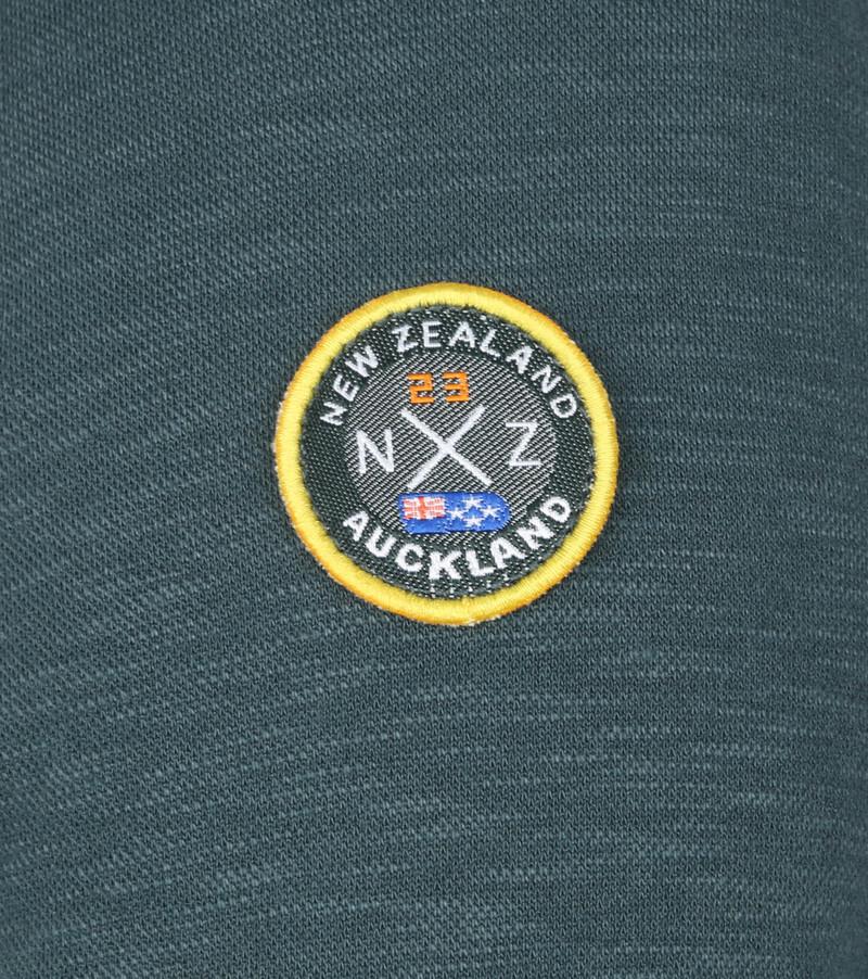 NZA Te Paeroa Pullover Half Zip Donkergroen