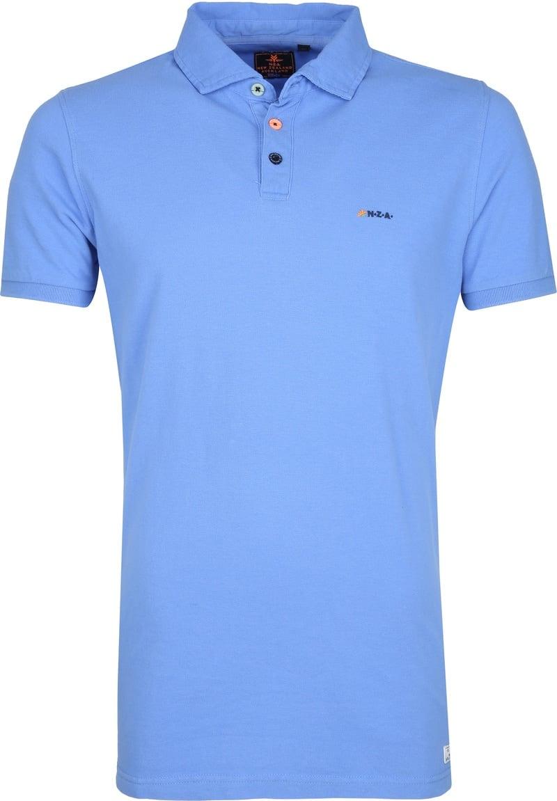 NZA Waiapu Poloshirt Blauw foto 0