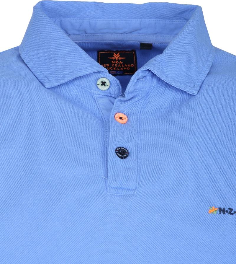 NZA Waiapu Poloshirt Blauw foto 1
