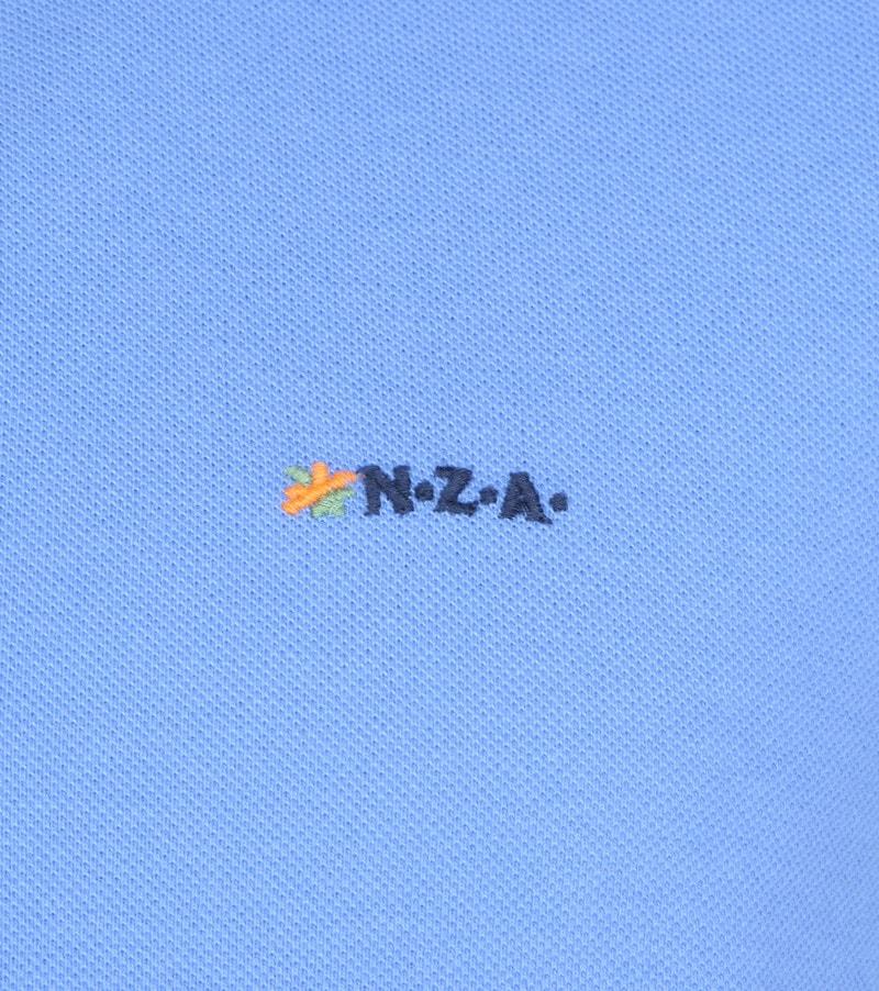 NZA Waiapu Poloshirt Blauw foto 2