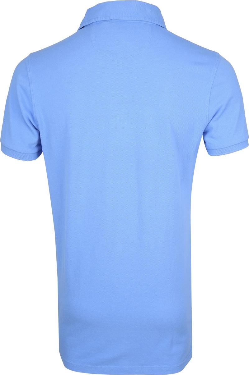 NZA Waiapu Poloshirt Blauw foto 3