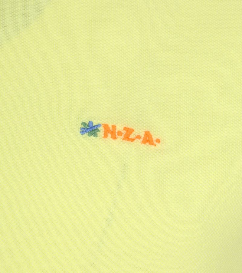 NZA Waiapu Poloshirt Geel foto 2