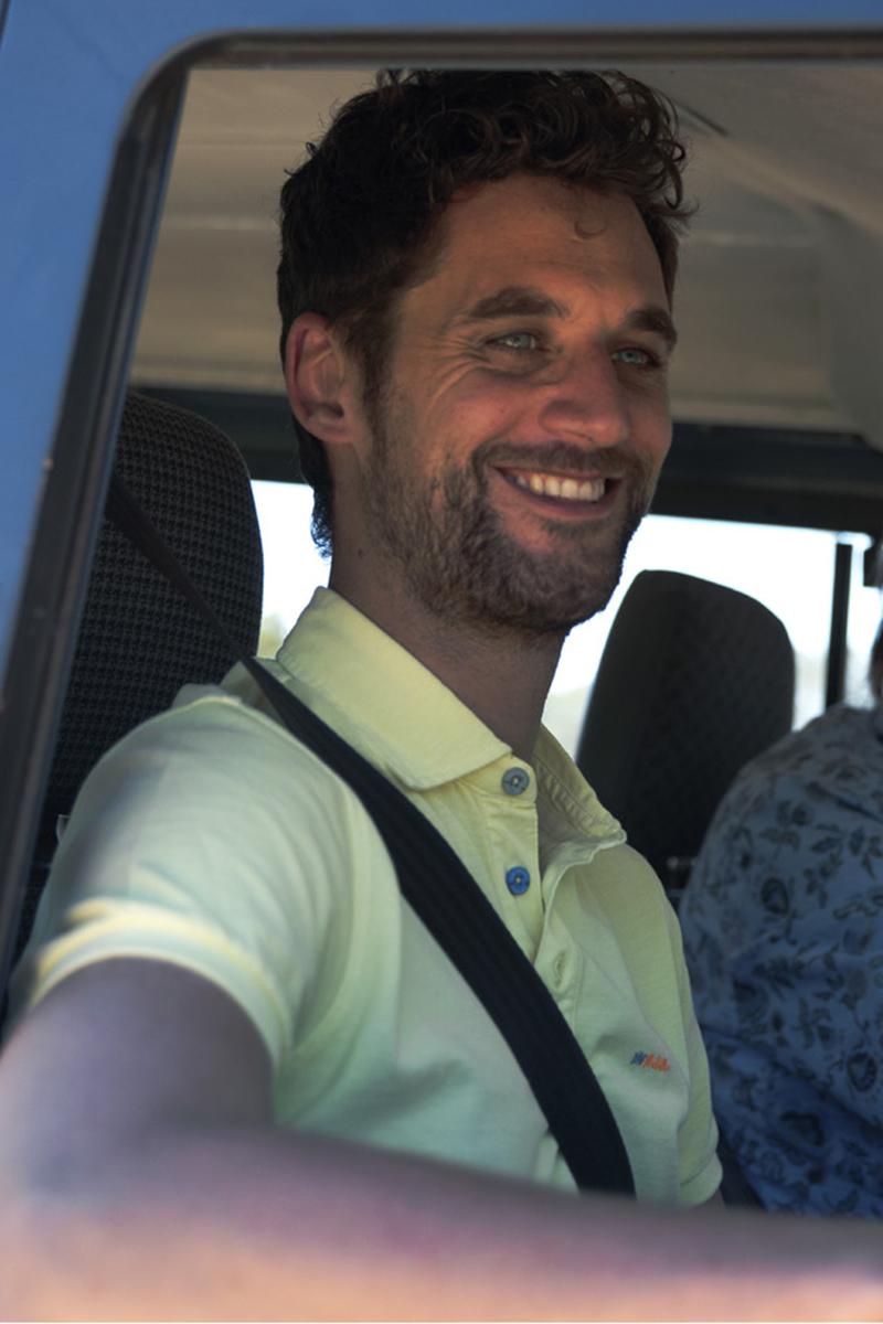 NZA Waiapu Poloshirt Geel foto 4