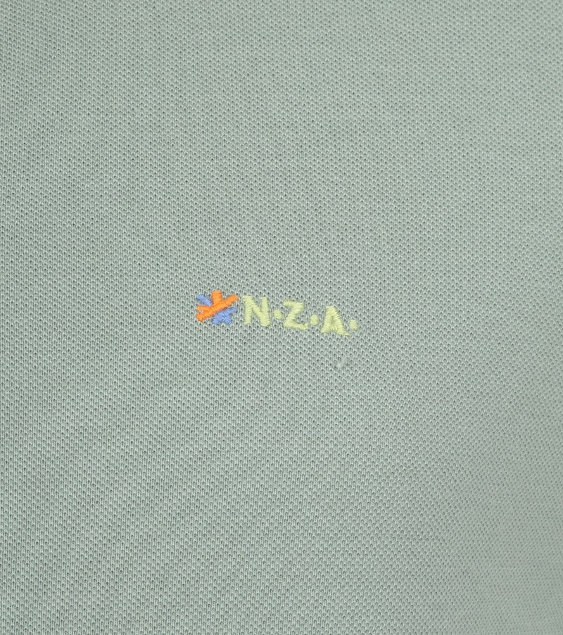 NZA Waiapu Poloshirt Groen foto 2