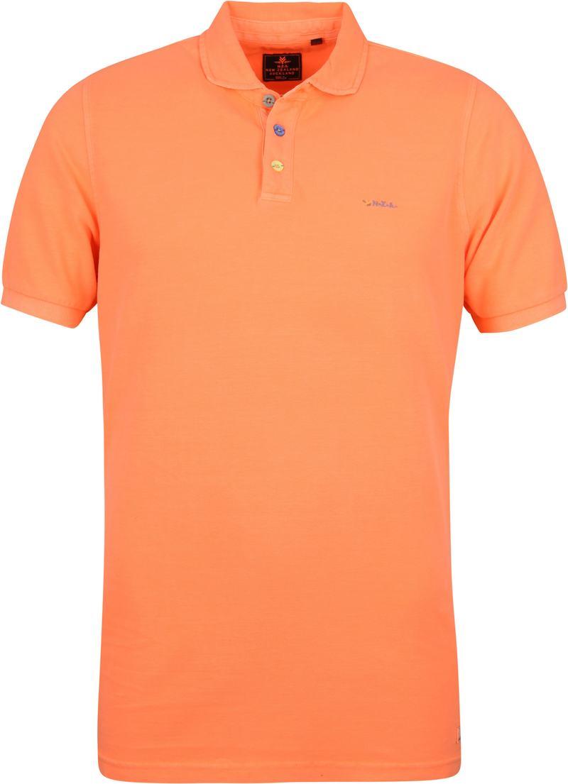 NZA Waiapu Poloshirt Neon Oranje foto 0