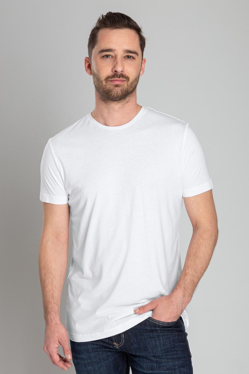 O-Hals 2-Pack Bamboe T-Shirt