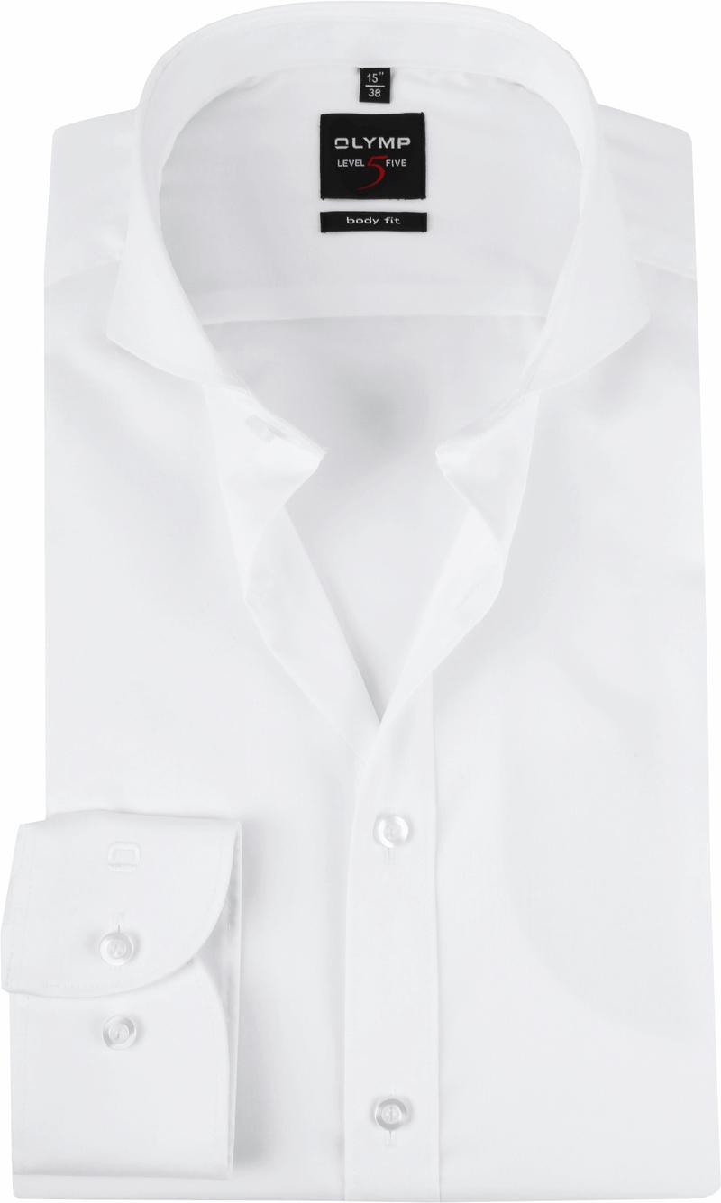 OLYMP Hemd Level 20 Weiß BF