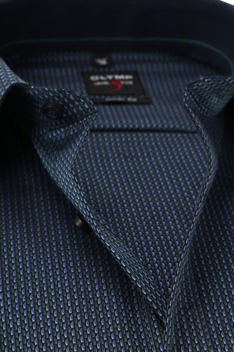 OLYMP Level 5 Shirt Dark Blue photo 1