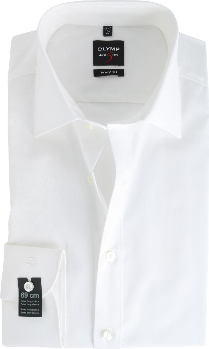 OLYMP Level Five Hemd Body Fit SL7 Off-White Foto 0