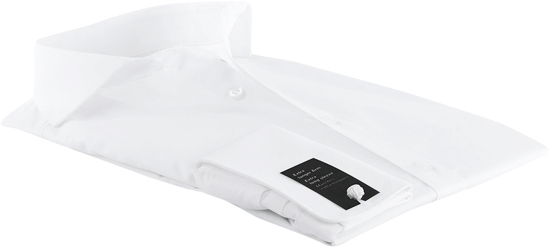 OLYMP Level Five Hemd Weiß SL7 Doppelmanschette