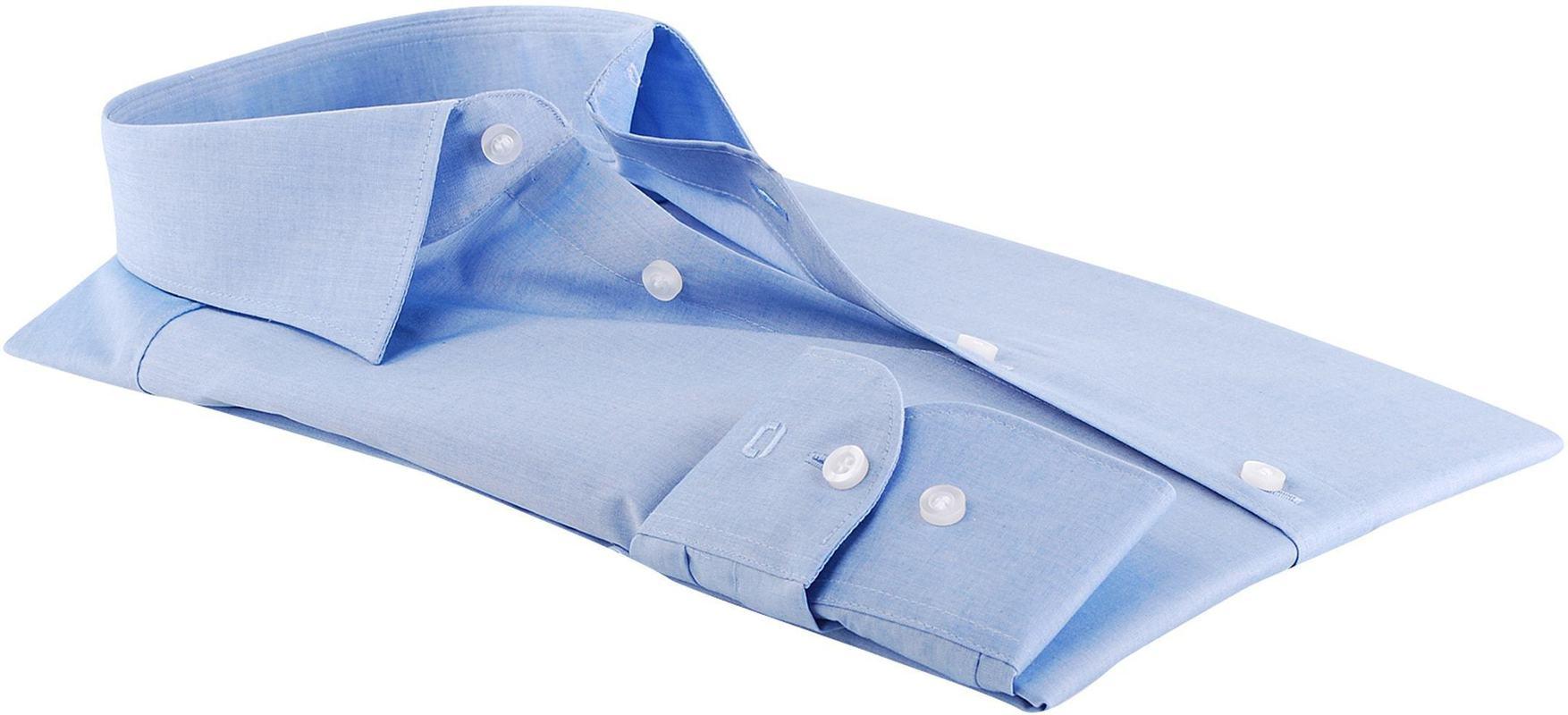 OLYMP Level Five Overhemd Body-Fit Blauw foto 1