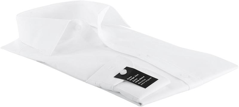 OLYMP Level Five Overhemd SL7 Body-Fit Wit foto 2