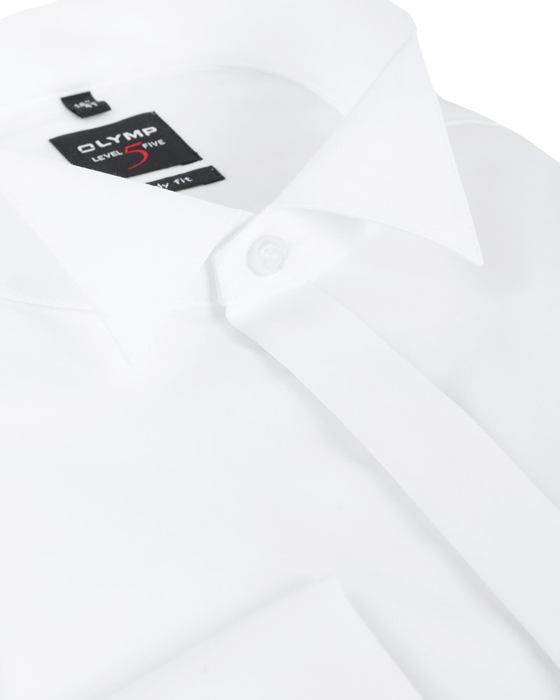 Olymp Level Five Tuxedo Shirt Body Fit White