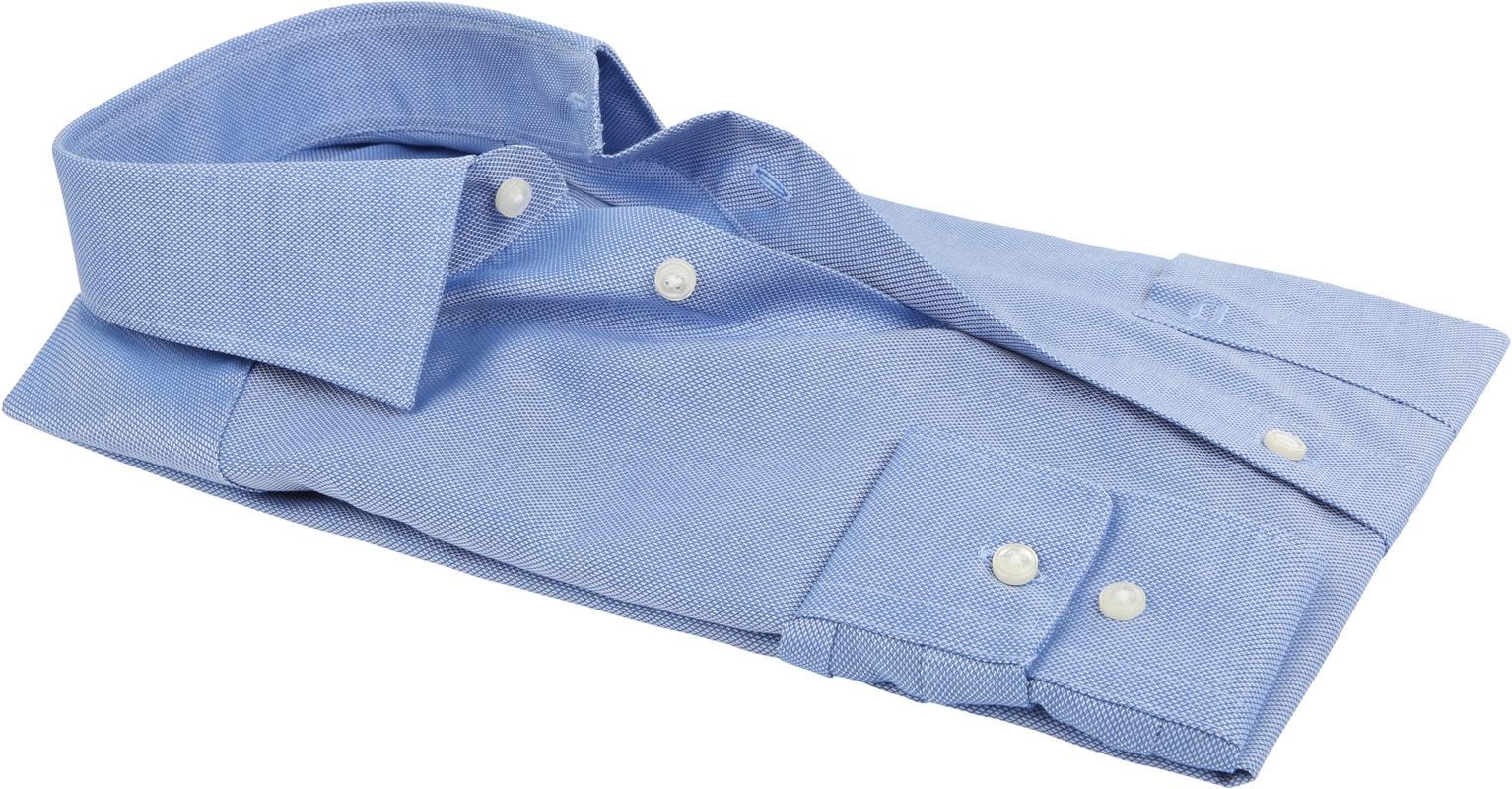 OLYMP Luxor Bügelfrei Hemd Modern Fit Bleu