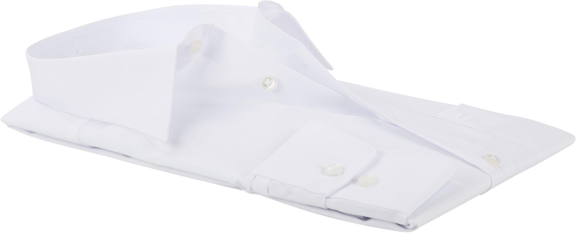 OLYMP Luxor CF Overhemd Wit SL7 - Wit maat 44