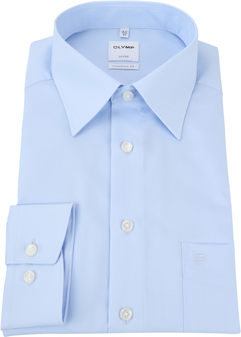 OLYMP Luxor CF Shirt Light Blue SL7 photo 3