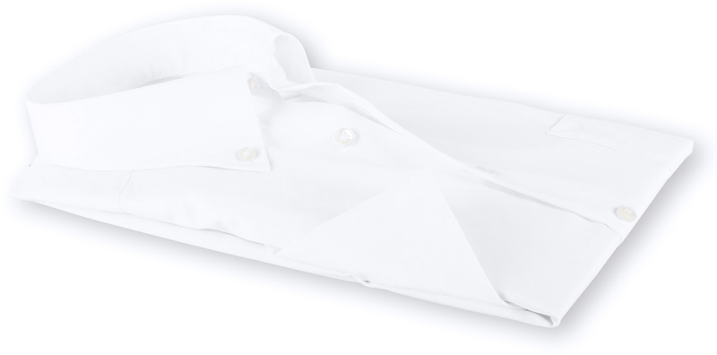 OLYMP Luxor Hemd Comfort Fit Kurzarm Weiß Foto 3