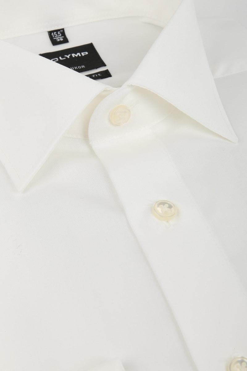 OLYMP Luxor Hemd Modern Fit Doppelmanschette Ecru