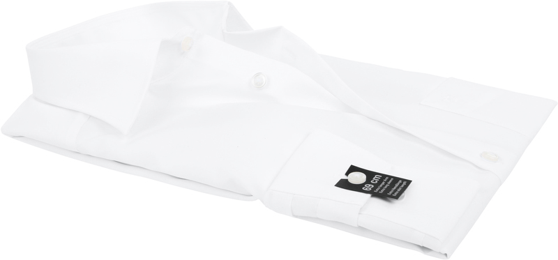 OLYMP Luxor Hemd SL7 Modern Fit Weiß Foto 3