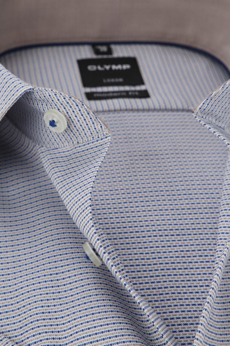 OLYMP Luxor MF Dessin Overhemd - Multicolour maat 41