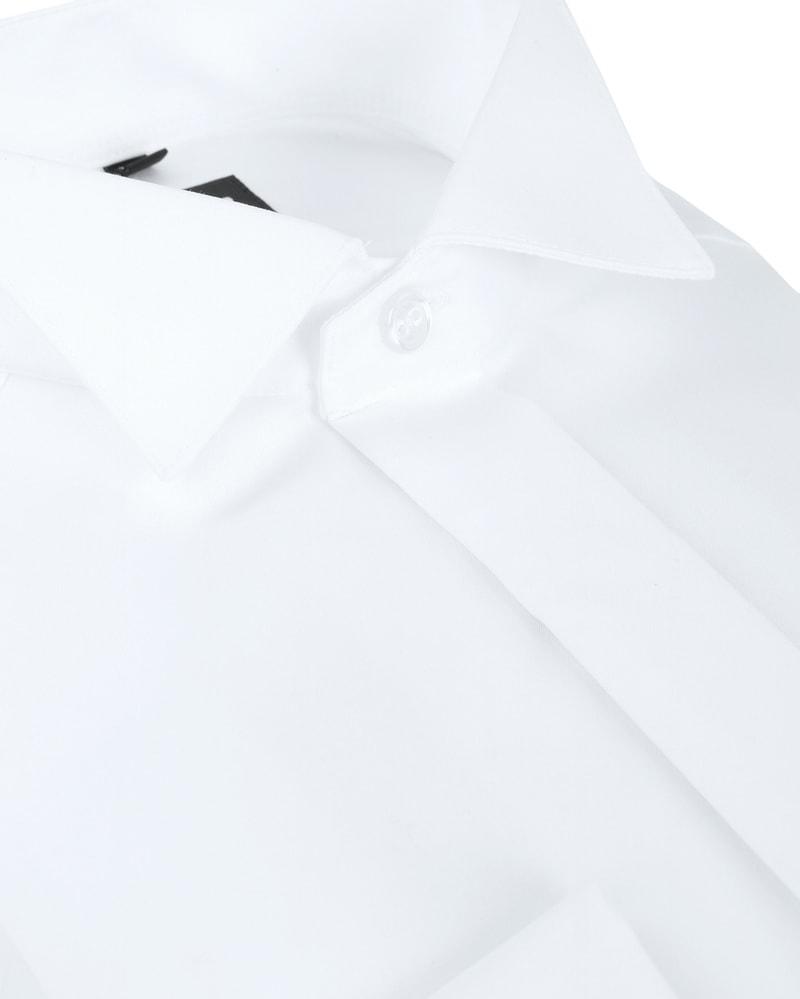 OLYMP Luxor MF Smoking Overhemd SL7 - Wit maat 41