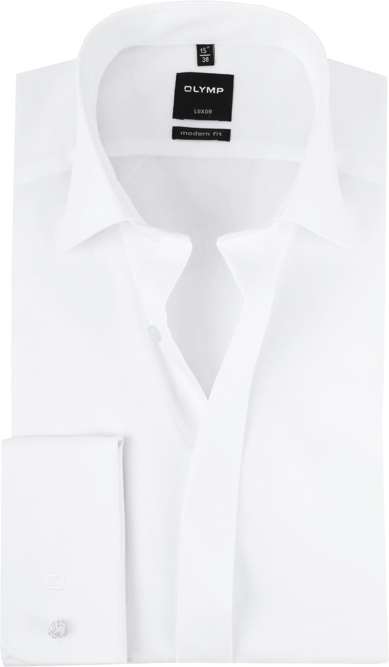 OLYMP Luxor MF Smokingshirt Wit - Wit maat 41
