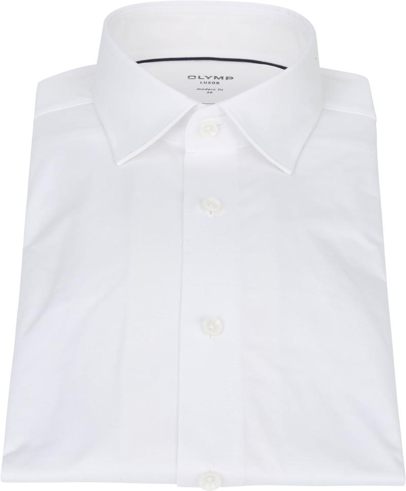 OLYMP Luxor Overhemd 24/Seven Wit