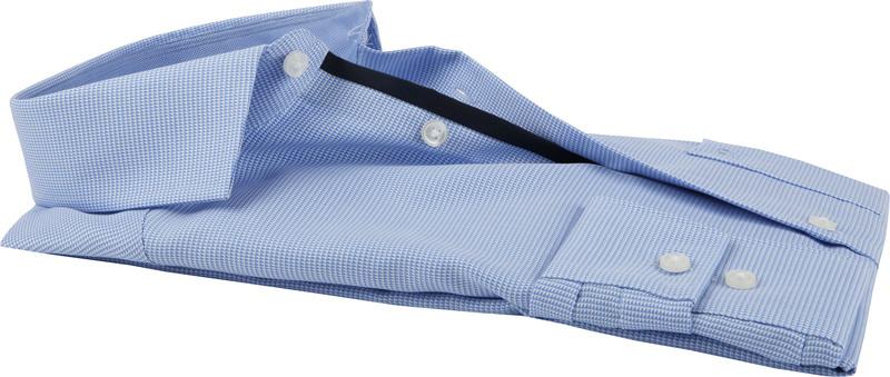 OLYMP Luxor Overhemd MF Blauw Wit SL7  - Blauw maat 38