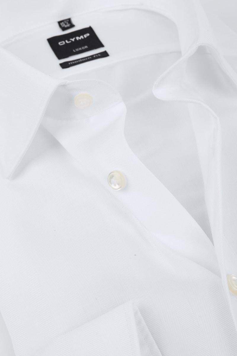 OLYMP Luxor Overhemd Slim Line White Herring foto 1