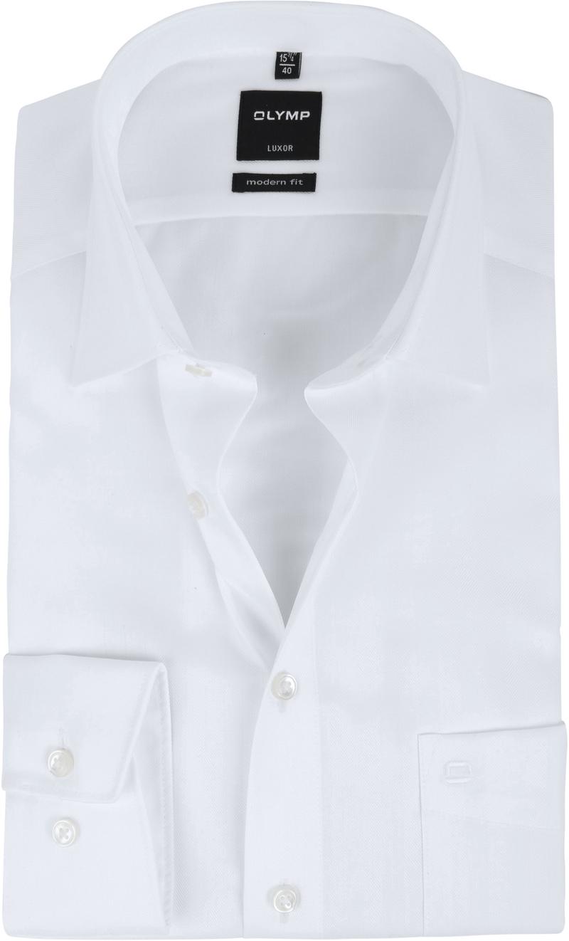 OLYMP Luxor Overhemd Slim Line White Herring foto 0