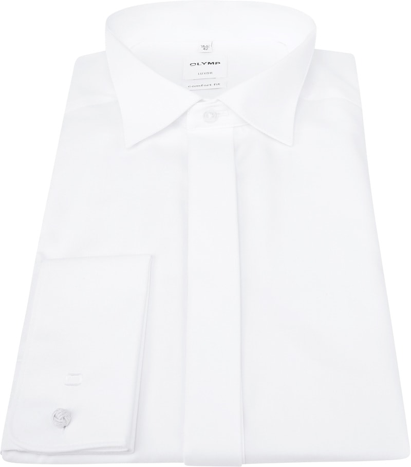 Olymp Luxor Overhemd Wit CF