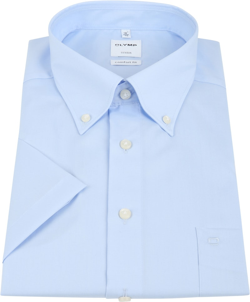 OLYMP Luxor Shirt Comfort Fit Blue photo 3
