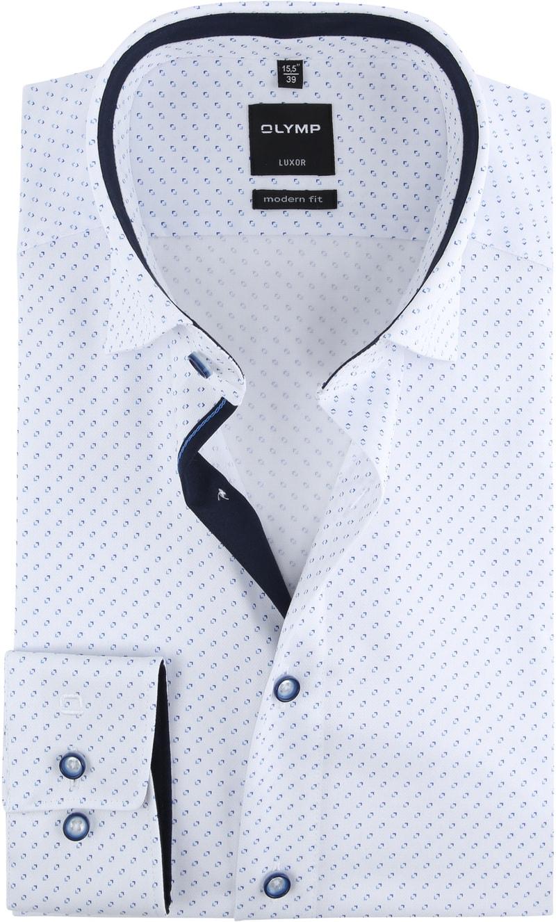 OLYMP Luxor Shirt Design White photo 0
