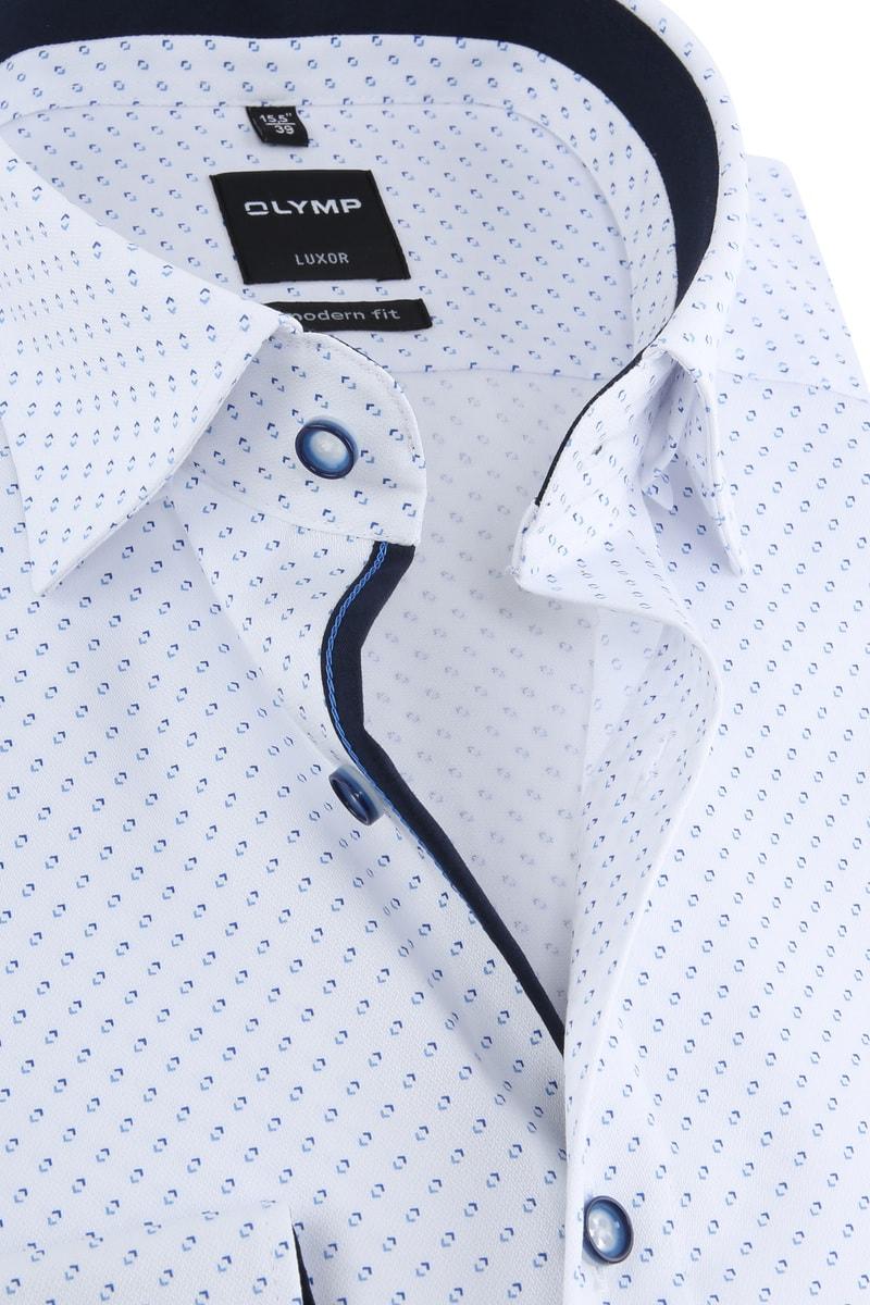 OLYMP Luxor Shirt Design White photo 1