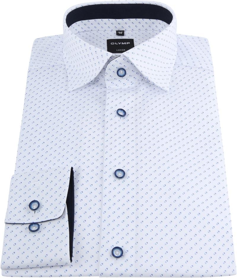 OLYMP Luxor Shirt Design White photo 2