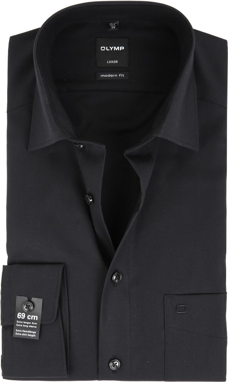 Olymp Luxor shirt SL7 MF Black photo 0